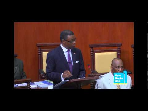 Hon. Harold Lovell presented the 2013 Budget Statement Part 3
