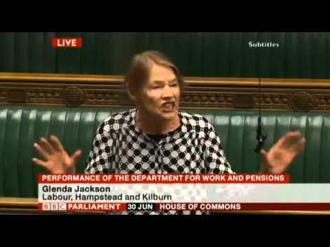 Glenda Jackson onOut of Touch stark raving lunatic Iain Duncan Smith
