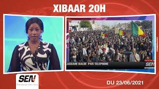 🛑[NEWS] Suivez Xibaar Yi commenté avec Khady Colonel | Mercredi 23 Juin 2021