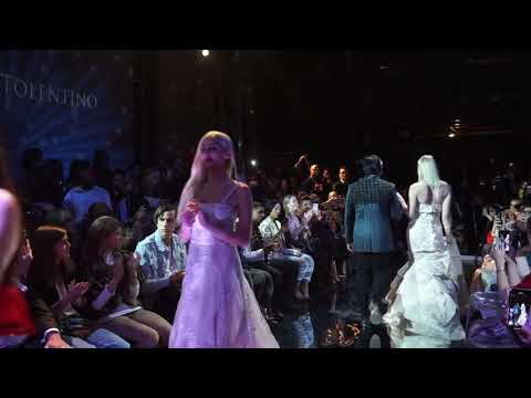SUSTAINABLE FASHION SHOW/ Oliver Tolentino