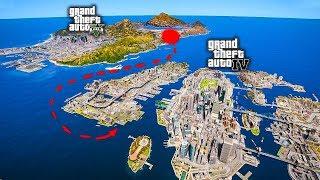 Ako sa dostať z GTA 5 do GTA 4!? Do GTA 5 pridali reálnu mapu GTA 4 Liberty City