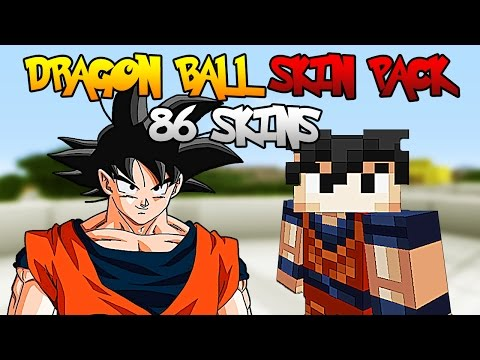 Dragon Ball Skin Pack Minecraft XBOX 360   86 SKINS   PC
