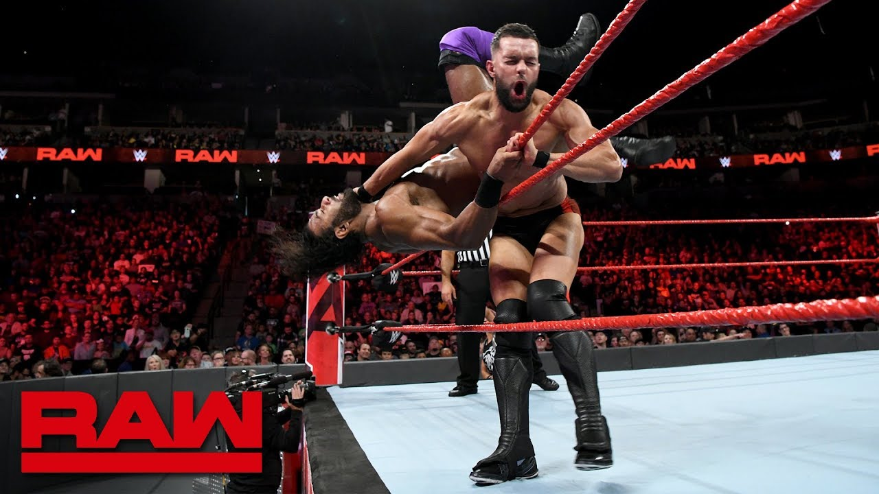 Finn Bálor vs. Jinder Mahal: Raw, Sept. 24, 2018
