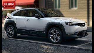 Новая Mazda MX-30: первый электромобиль марки