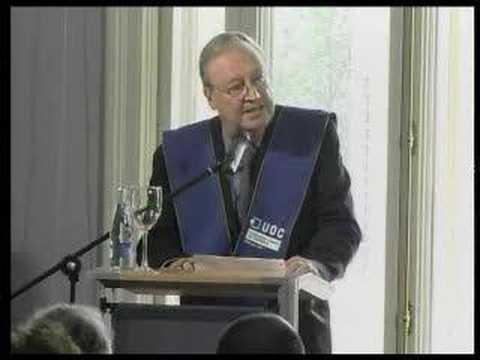 Investiture speech of William J. Mitchell. 2006 I UOC