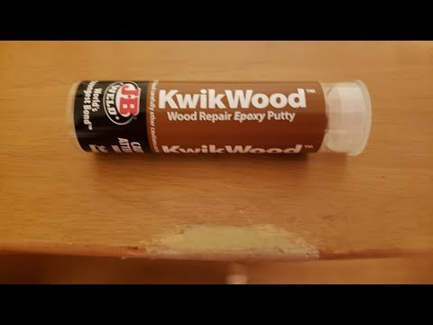 How To Repair Wood With Epoxy Putty