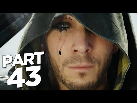 CROSSING THE TAR BELT in DEATH STRANDING Walkthrough Gameplay Part 43 (FULL GAME)