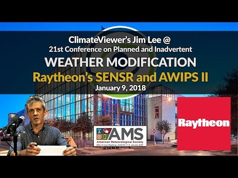 Raytheon, SENSR, and AWIPS - Combining Weather and National Security