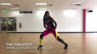 """The Greatest"" by Sia - Kiesha Dance Fitness"