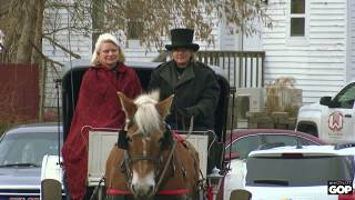 Sen. Johnson visits the Holly Dickens Festival