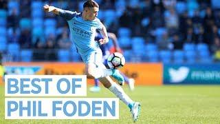 BEST OF PHIL FODEN | Goals, Skills, Assists 2016/17