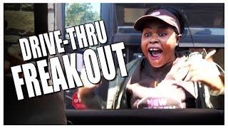 FAN FREAK OUT IN DRIVE-THRU | Verne's Vlogs