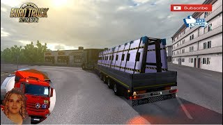 Euro Truck Simulator 2 (1.34)   New City in the Afromap 2.0 Gameplay Volvo FH 2012 by Eugene + DLC's & Mods  Support me please thanks Support me economically at the mail vanelli.isabella@gmail.com  Roadhunter Trailers Heavy Cargo  http://roadhunter-z3d.de