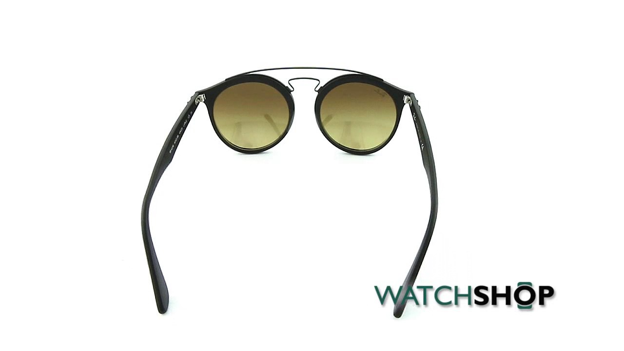 9e07dc9caee Ray-Ban RB4256 Gatsby I Sunglasses (RB4256-6253B8-49) - YouTube