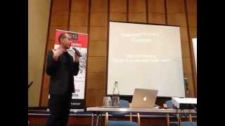 John Buckman at ORG Con North 2013 in Manchester