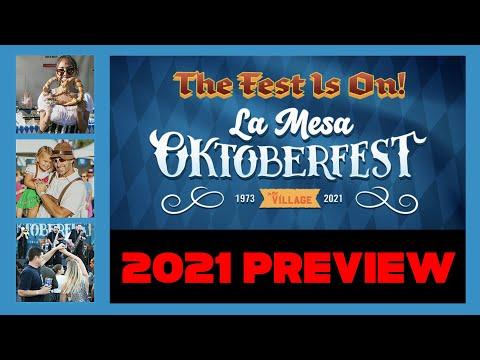 LA MESA OKTOBERFEST - Remembering 2019 and looking forward to the Virtual Oktoberfest 2020