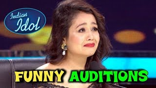 INDIAN IDOL FUNNY AUDITIONS || NEHA KAKKAR || GAREEB