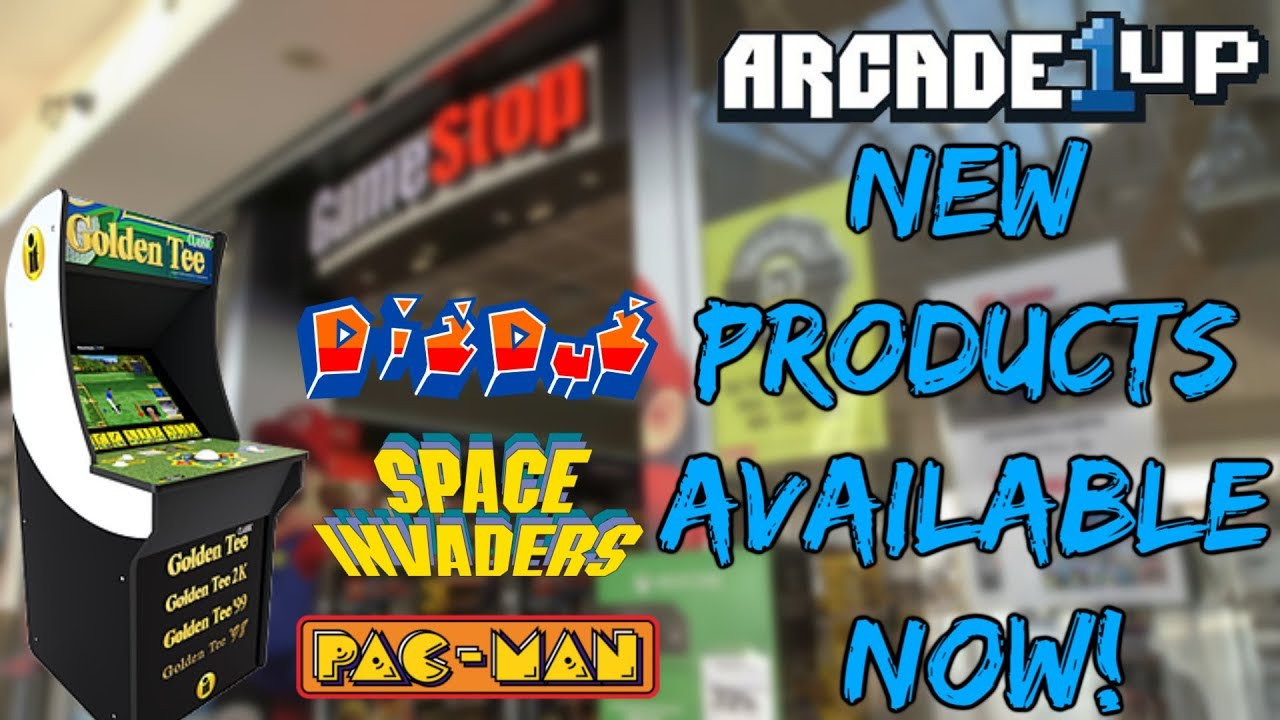 NEW Arcade1Up Products AVAILABLE For Purchase & Pre-Order At
