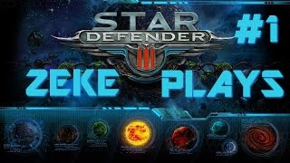 Zeke Plays- Star Defender 3; Episode #1: Nirax & Sibius