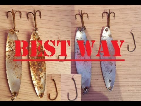 How To Clean Rusty Fishing Hooks And Lures The Best Way!