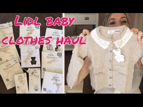 LIDL BABY CLOTHES HAUL