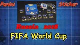 Panini Sticker Album FIFA World Cup 2018 Russia new stickers for LuckyBag Soccer Series Paninialbum
