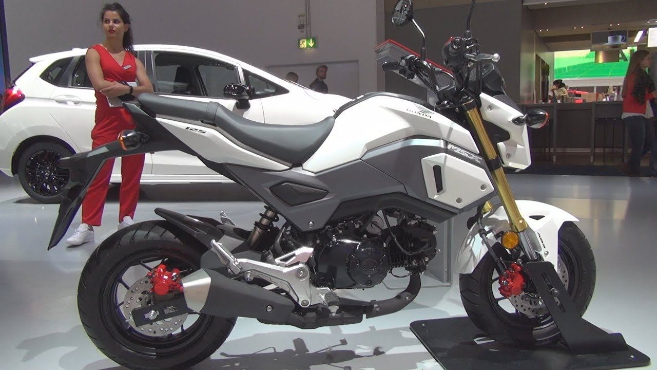 honda msx 125 2018 exterior and interior youtube. Black Bedroom Furniture Sets. Home Design Ideas