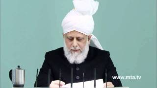 English Friday Sermon 6th January 2012  PRESENTED BY KHALID QADIANI clip3