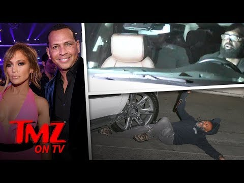 Jennifer Lopez's Driver Runs Over Paparazzi | TMZ TV