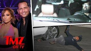 Jennifer Lopez's Driver Runs Over Paparazzi | TMZ TV
