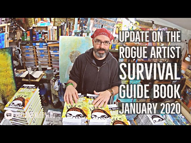 Update On The Rogue Artist Survival Guide Book