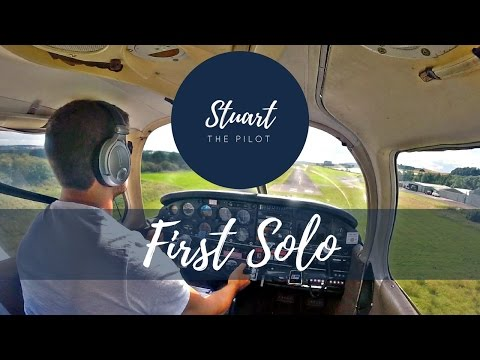 My FIRST SOLO Flight | PA28 | Fife Airport | Scotland