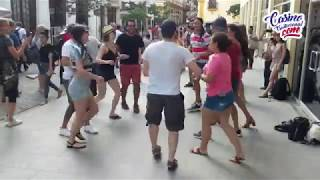 Dancing Rueda de Casino in Havana