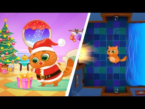 NEW BUBBU 🐱 CHRISTMAS UPDATE! 🎄ALL GAMES UNLOCKED!! cooking🍝, dreams art and music room!