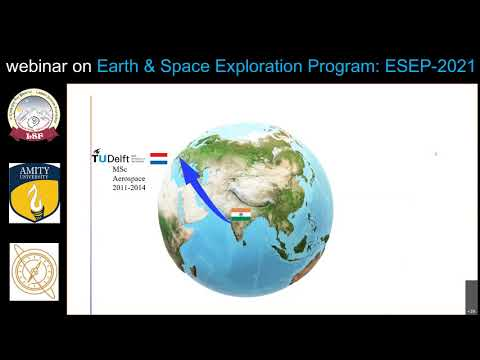 ESEP-2021 (Earth and Space Exploration Program), June-Oct.2021 in Ladakh. Dr. Siddrath Pandey