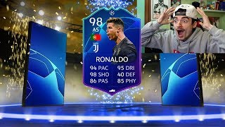 CHE GIOCATORI !!! MESSI 99 e RONALDO 98 !!! TOTKS PACK OPENING FIFA 19
