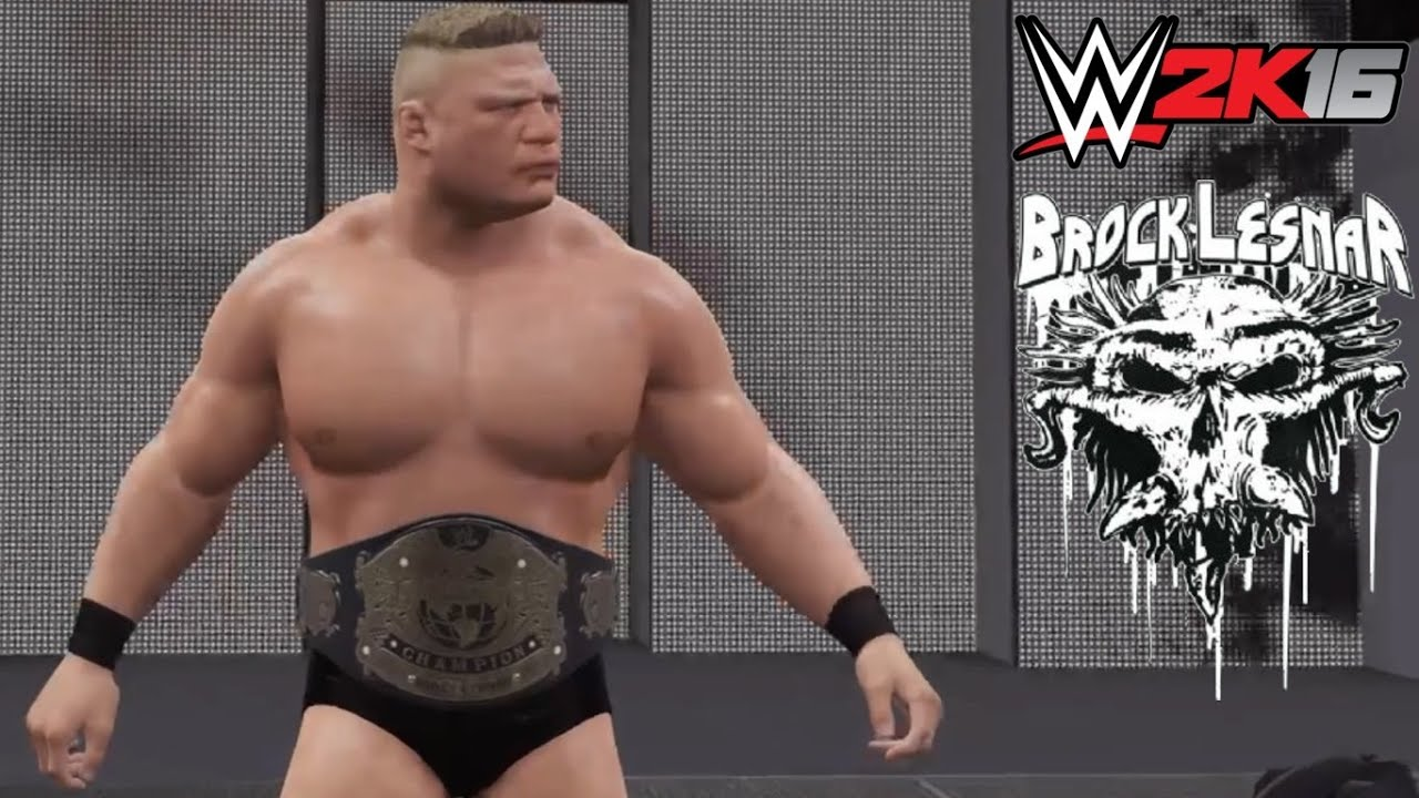 wwe 2k16 brock lesnar ruthless aggression era 2002-04 without