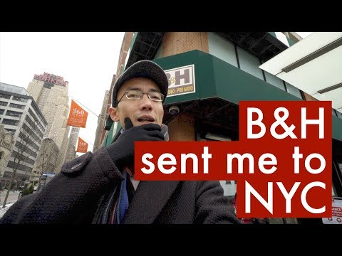 B&H sent me to NYC: Lok's Wideo Blog 12.2.2017