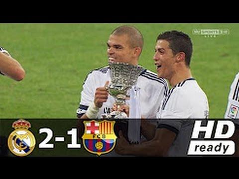 EL CLASICO REAL MADRID Vs FC BARCELONA 2 - 1 ARCHIVE EL C