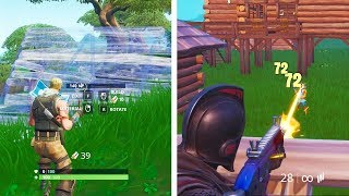 NOOB & PRO Queue In SAME MATCHES For 10 Games -  Here's How Their Games Went (Fortnite)