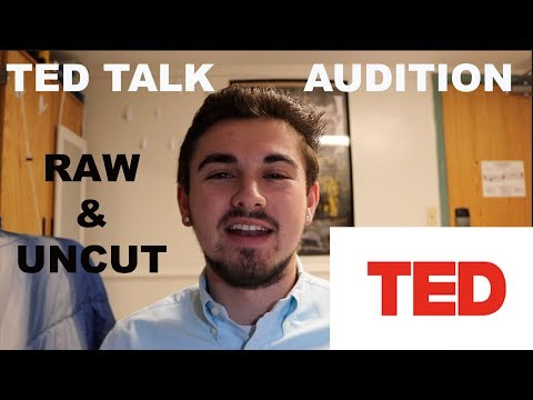 My TED Talk Audition... Why Aren't You Happy? | RAW AND UNCUT
