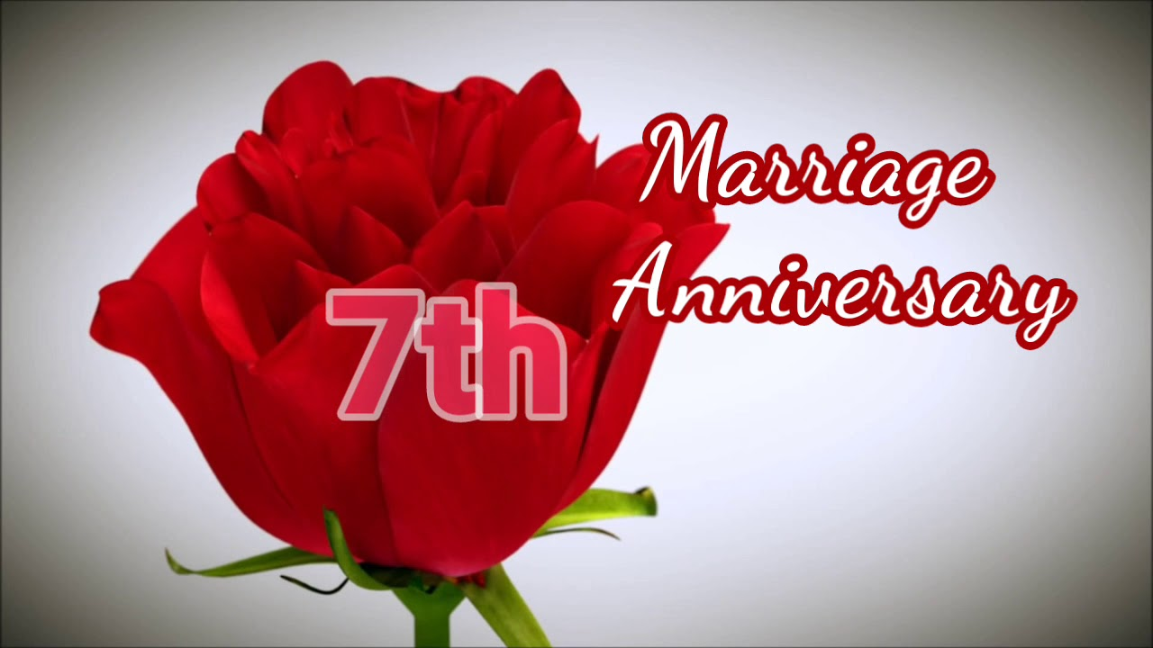 7th Wedding Anniversary.Happy 7th Marriage Anniversary Bhaiya Bhabhi