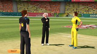 Women's Cricket World Cup 2017 Android Gameplay