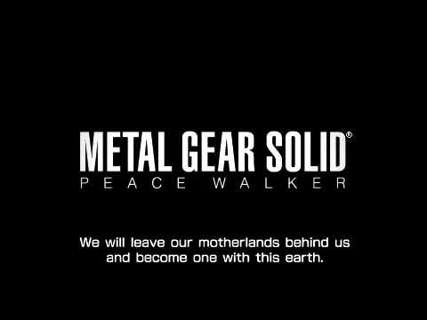 MGS Peace Walker: Outer Heaven Speech