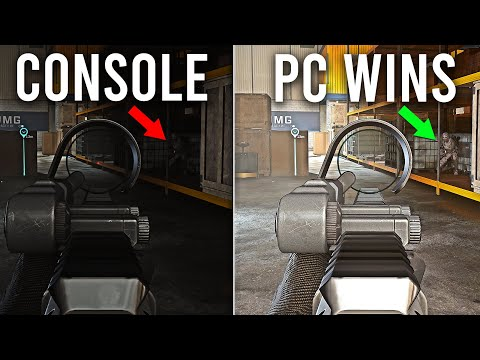 Call of Duty Warzone is not fair ( PC vs Console )