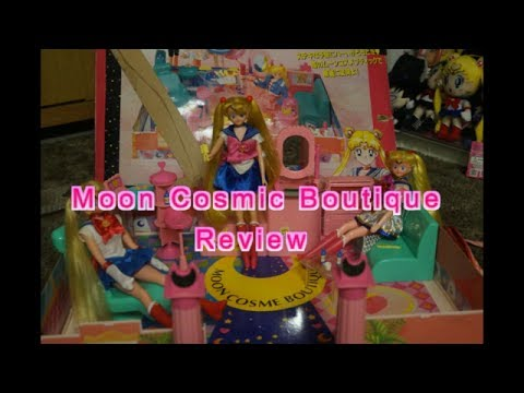 1994 Sailor Moon Playset Cosmic Boutique