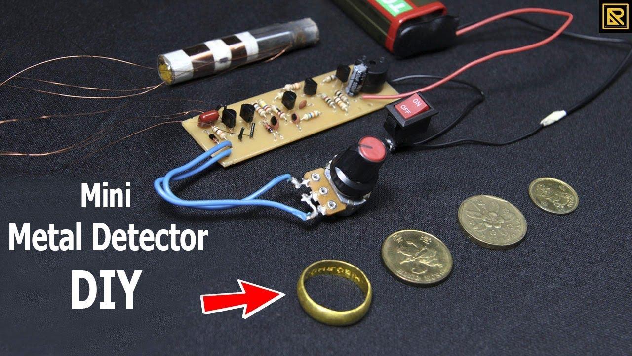 How To Make Mini Metal Detectors Simple