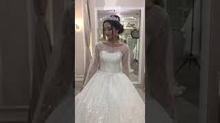 Шикарное свадебное платье 2019