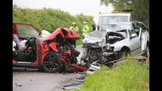 Car crash in america usa 2018,idiot drivers 2018, stupid drivers compilation 2018,
