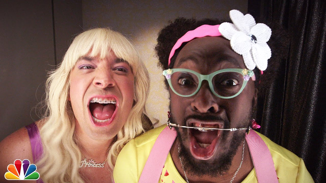 Jimmy Fallon feat. will.i.am - Ew! (Official Music Video ...